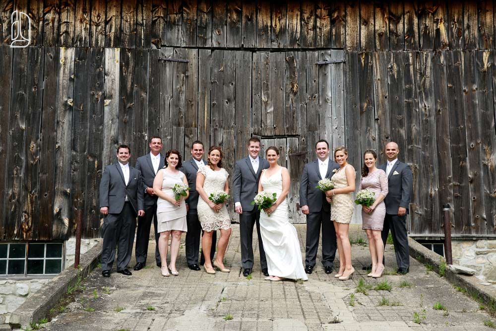 Temple's Sugar Camp wedding