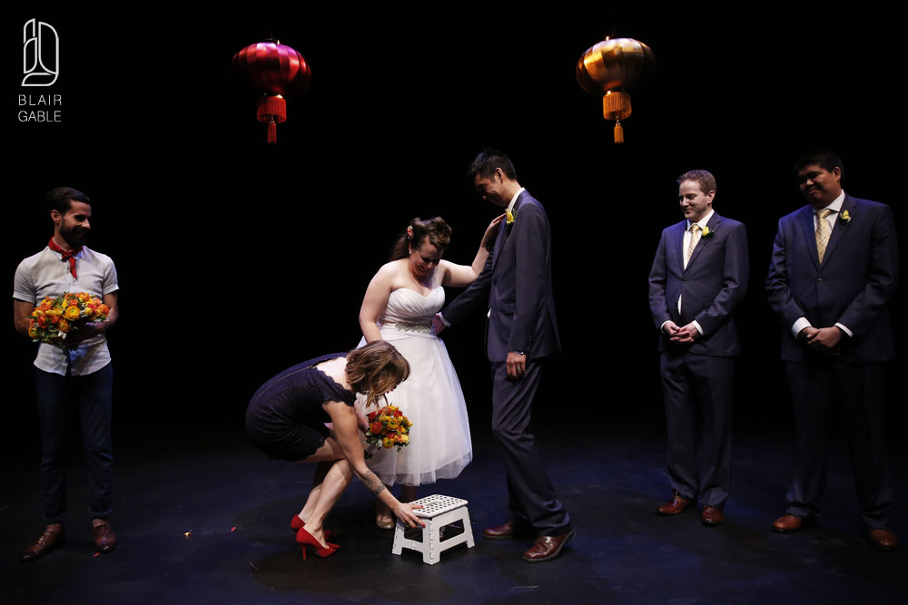 Great Canadian Theatre Company wedding