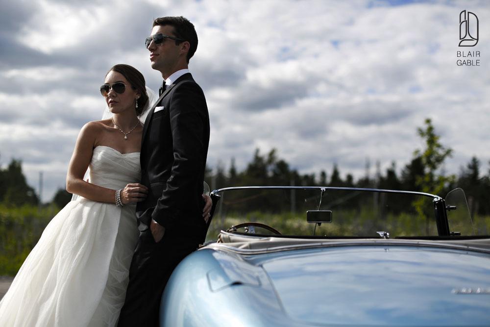 Canadian Golf Course wedding