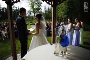 Canadian Golf Course wedding