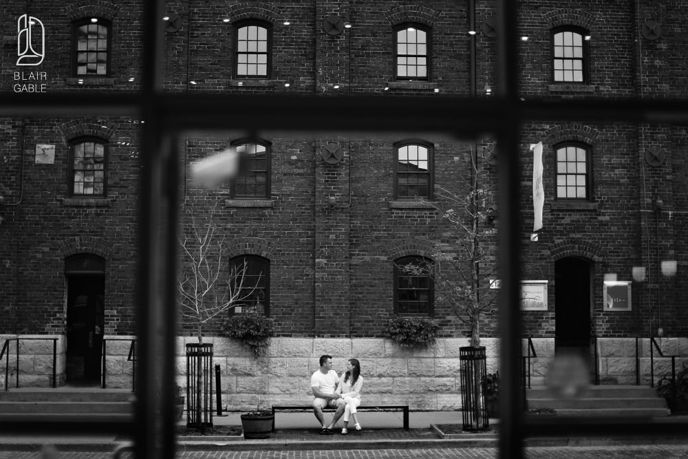 Toronto distillery district portraits