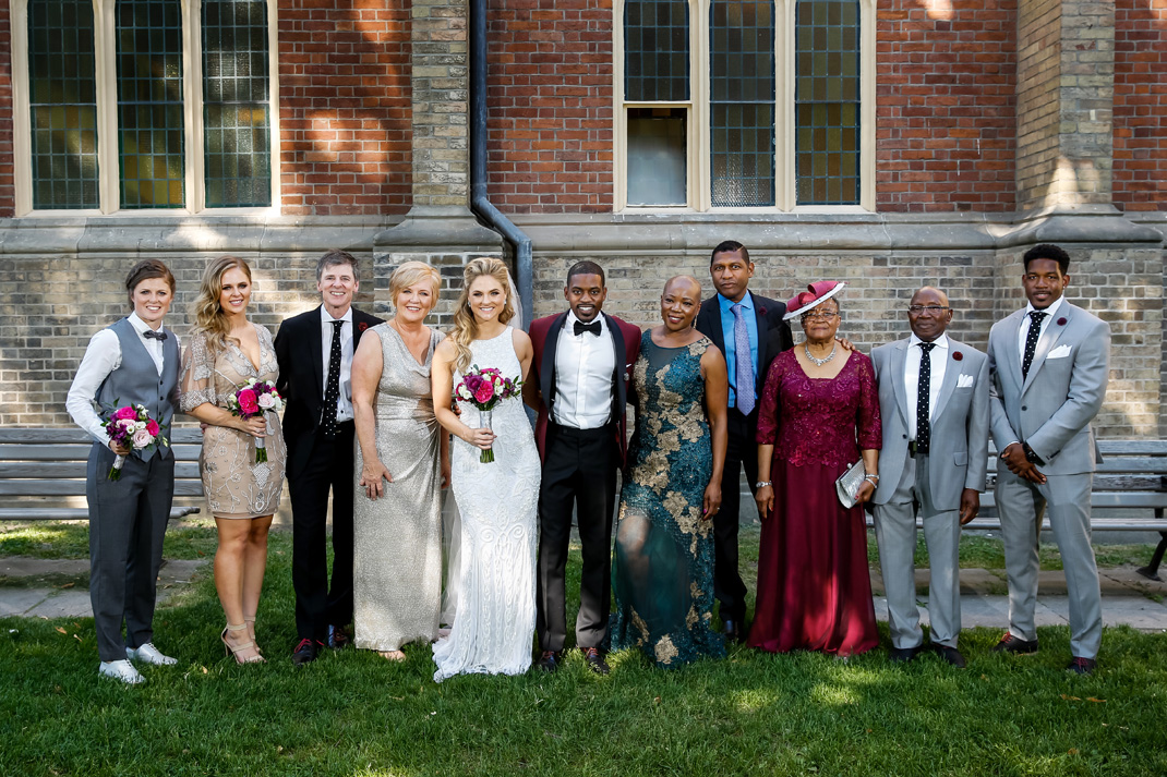 Wedding of Kate and Donovan at The Thompson Hotel and Little Trinity Church in Toronto June 6, 2016. Photo by Blair Gable