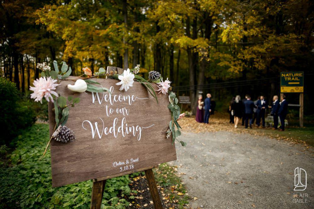 Temple's Sugar Bush Wedding