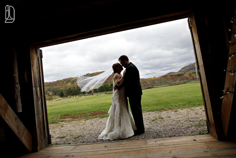 Wedding of Bonnie Kirkwood and Ryan at the Irish Creek Farm