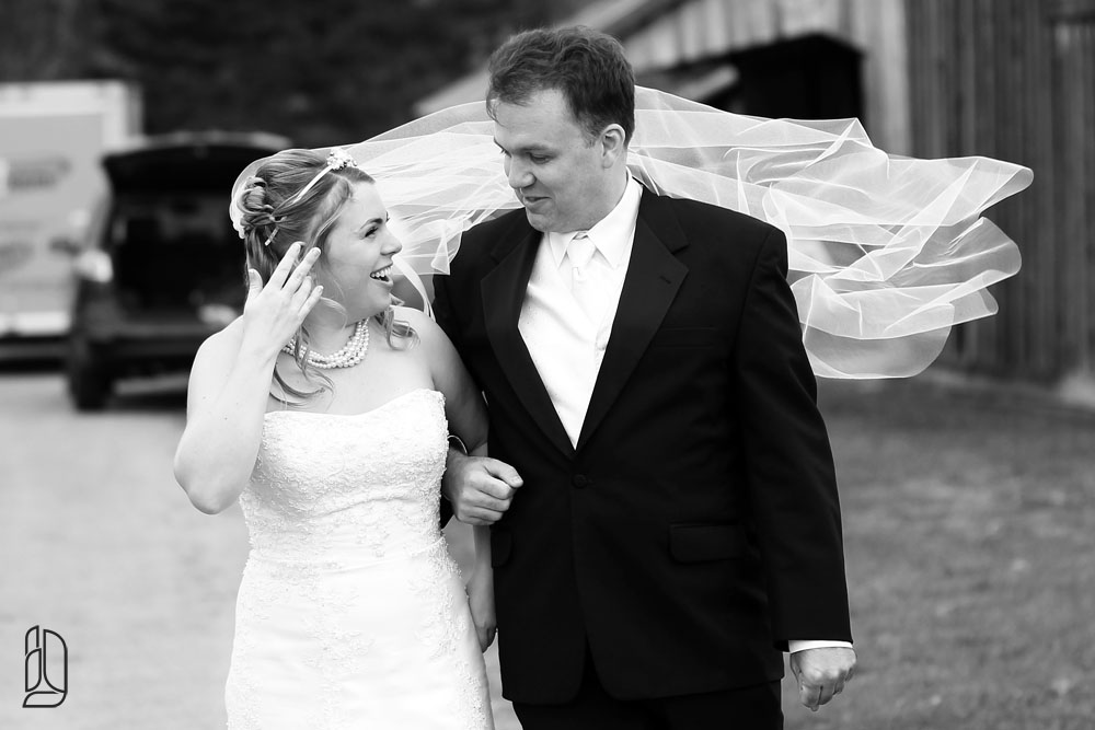 Wedding of Bonnie Kirkwood and Ryan at the Irish Creek Farm