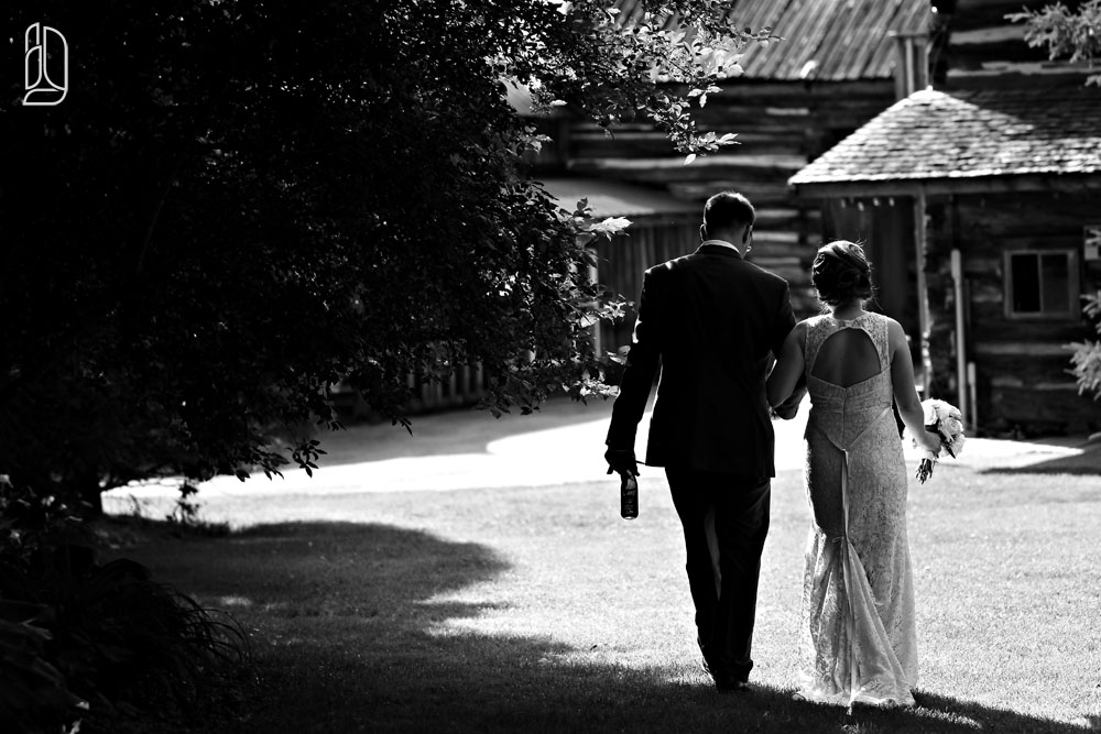 Wedding of Kaitlin and Keith at Saunders Farm in Munster near Ottawa