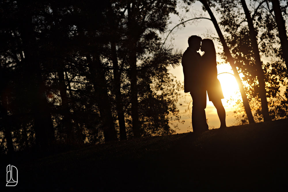 Engagement session with Lily Fang and JF at Britannia Beach in Ottawa