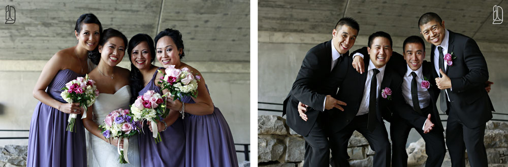 Wedding of Mary and Conrad at the National Arts Centre in Ottawa