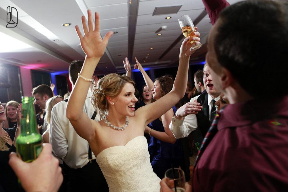Wedding of Megan and Matt at Le Nordik Spa