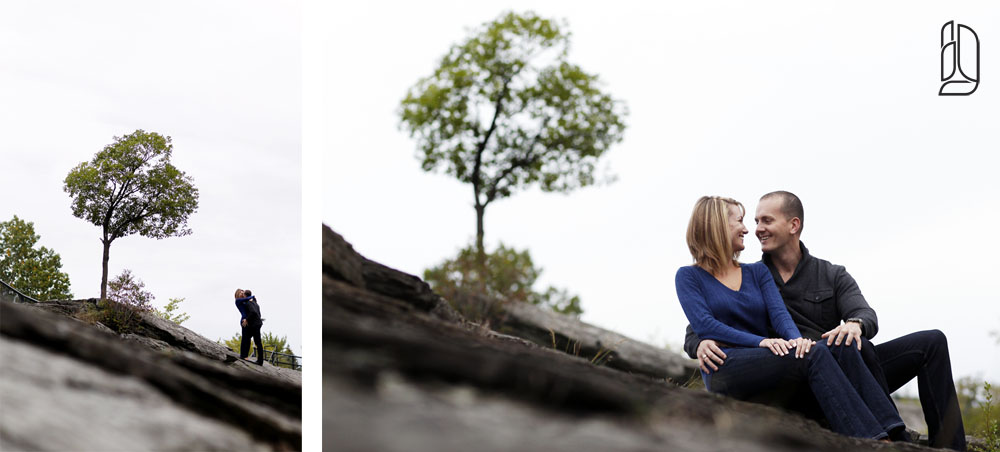 Engagement session with Megan and Travis