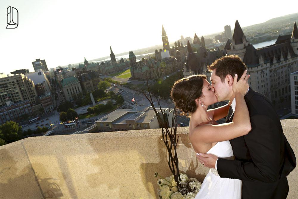 Elopement of Michelinne & Darren at the Ottawa Westin